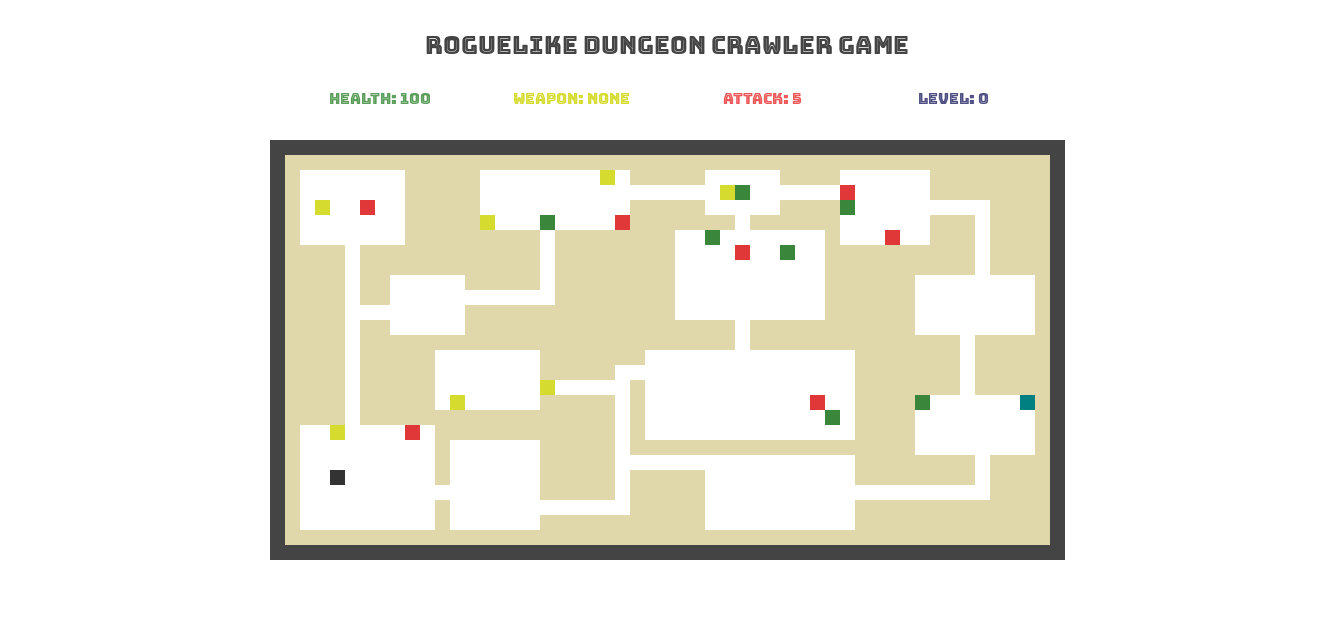 Rougelike Dungeon Crawler Game
